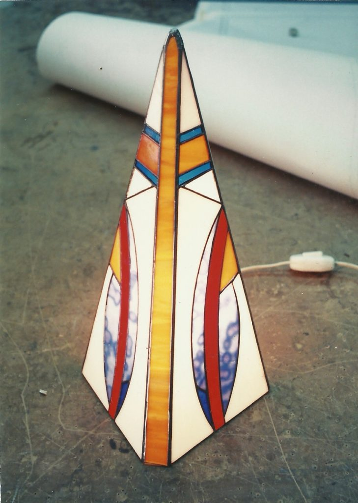 Unusual lamp