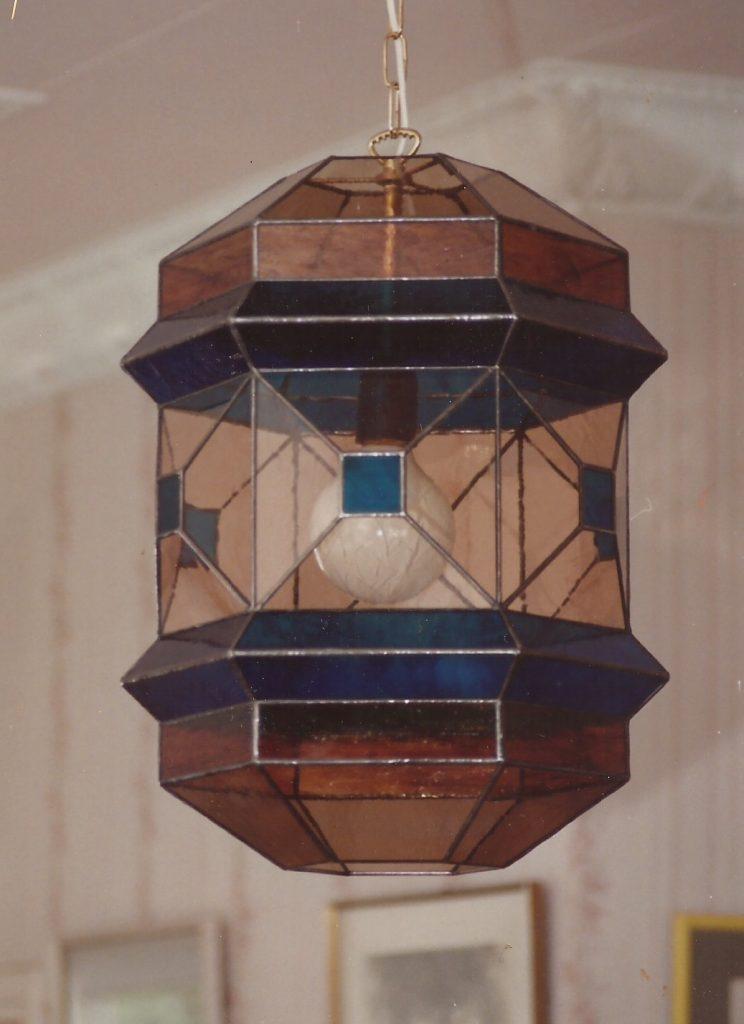Arabesque ceiling lamp